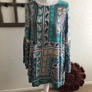 Umgee Long Sleeve Dress